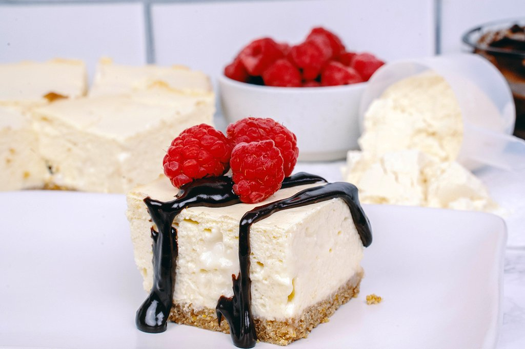 Protein Packed Cheesecake