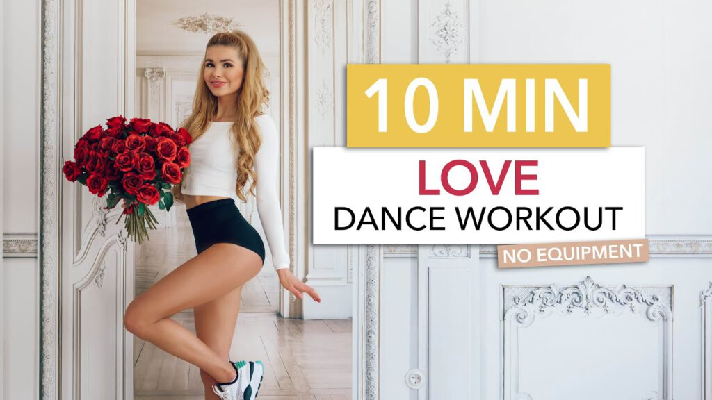 10 MIN LOVE DANCE WORKOUT - burn calories to Oldies Love Songs / Pamela Reif I No Equipment