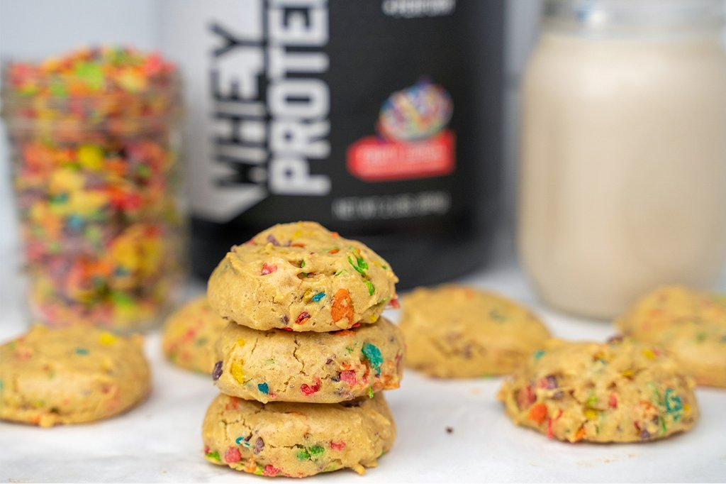 Fruity Cereal Protein Cookies