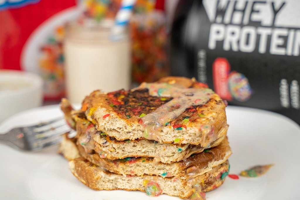 Fruity Cereal Protein French Toast