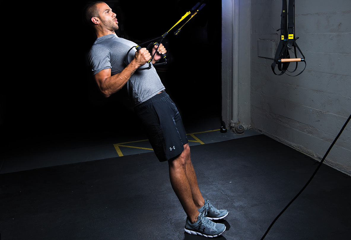 TRX Row in studio