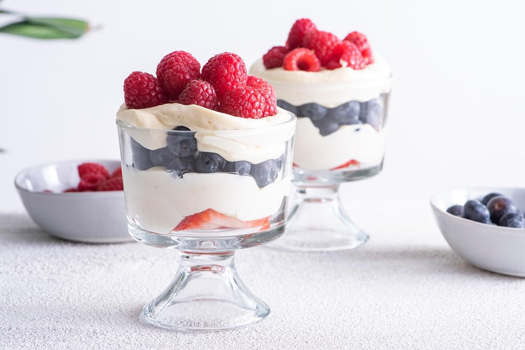 Berries and Cream Cups