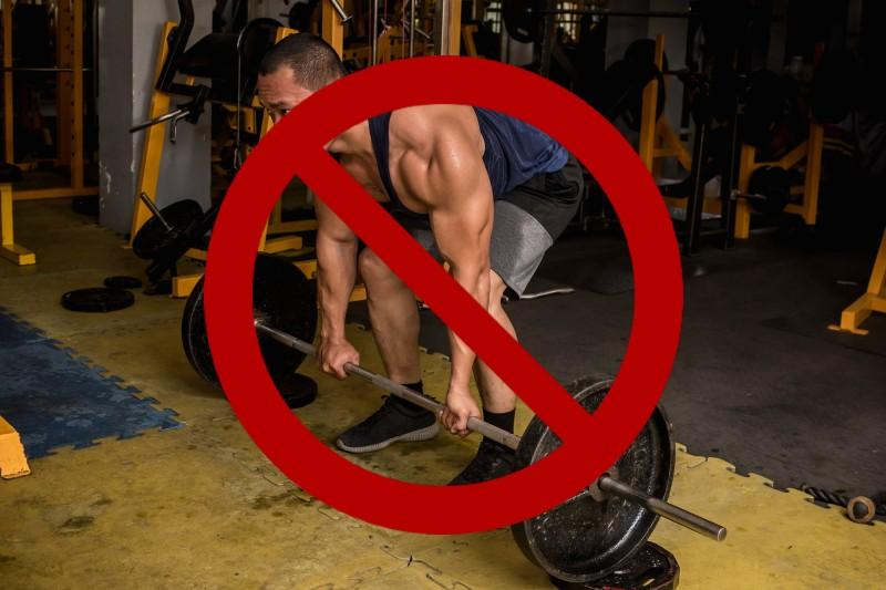 Planet fitness deadlifts image