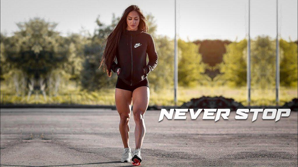 NEVER STOP - female Fitness Motivation 🔥