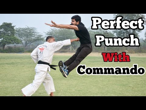 Perfect punch with Commando    Commando Fitness Club