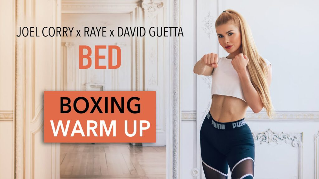 BED - Joel Corry x RAYE x David Guetta / BOXING WARM UP ROUTINE I Pamela Reif