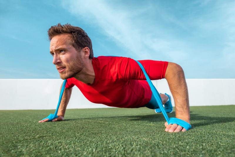 Banded Push-Ups: Benefits, Muscles Worked & How-To | NOOB GAINS