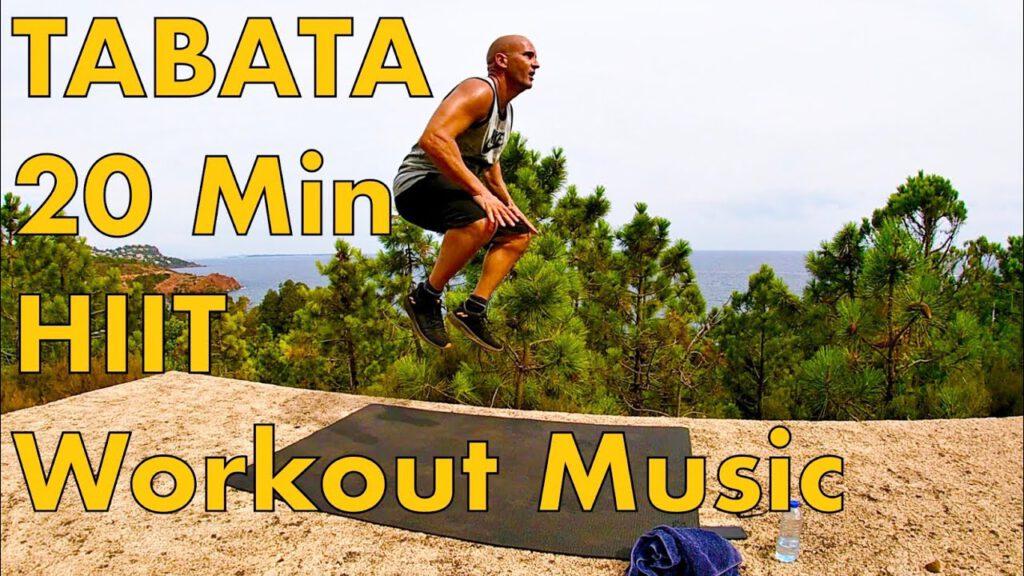 Tabata 20 min / 5 levels / Workout motivation music