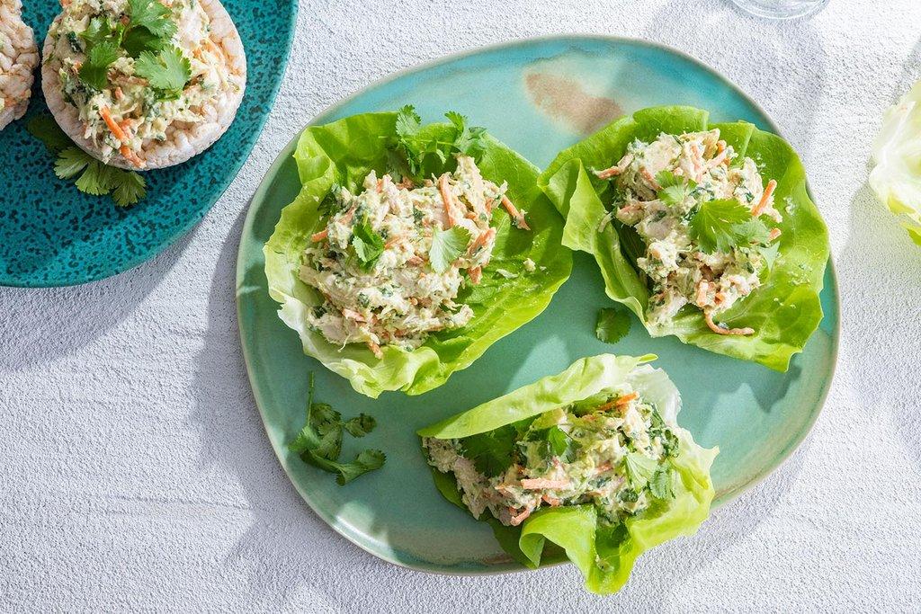 Green Curry Chicken Salad