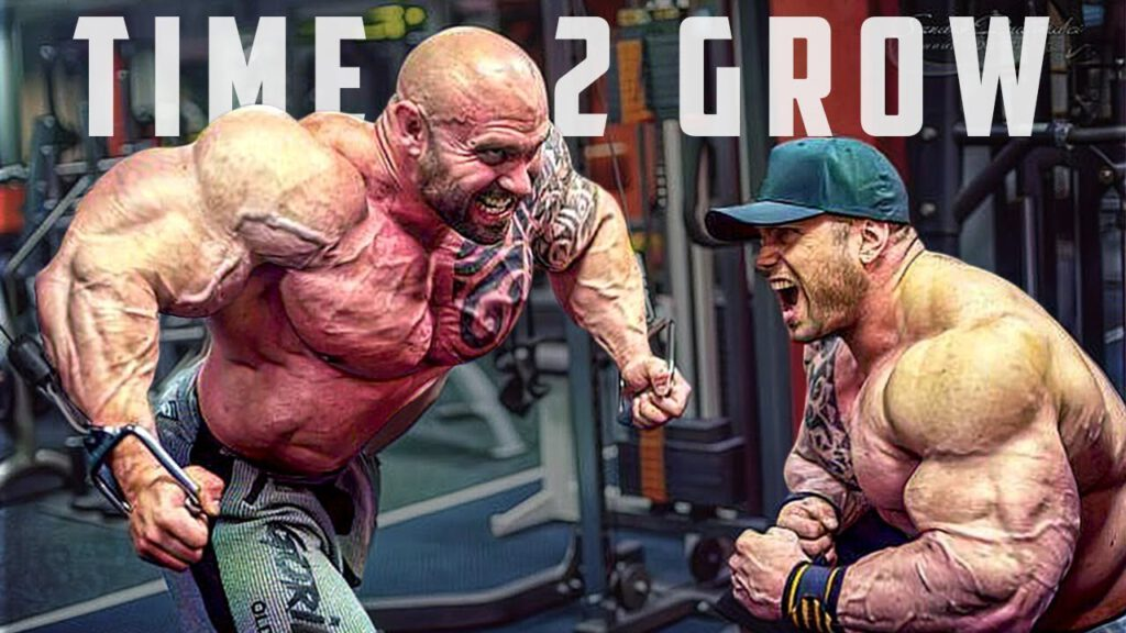 2021 - IT'S TIME TO GROW - HARDCORE GYM MOTIVATION