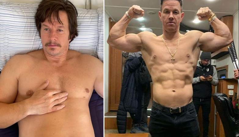 Mark Wahlberg discusses the challenges he faced while having to gain a lot of weight - Fitness and Power